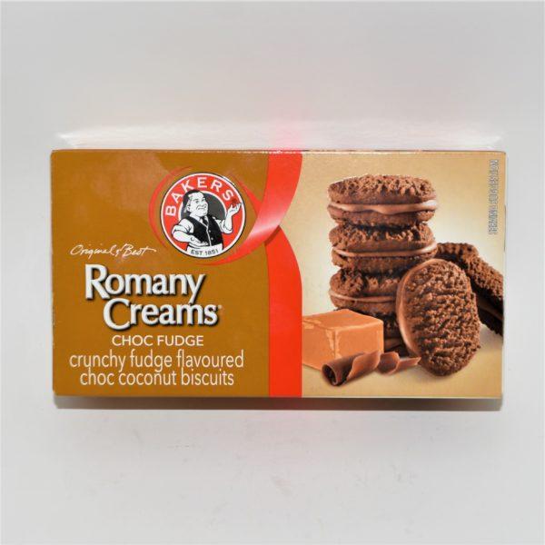 Romany Creams Choc Fudge, chocolate fudge