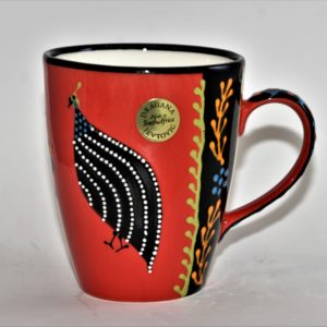 Ntaba African Coffee Mugs - Red