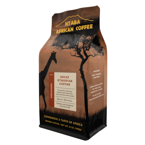 African Coffee - Decaf-Ethiopian-Coffee